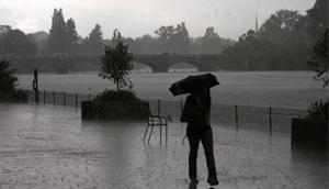Hustý déšť
