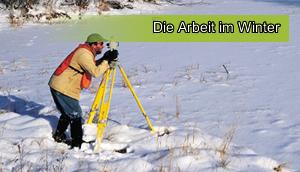 Arbeiten im Winter