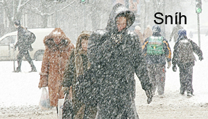Sníh a mráz